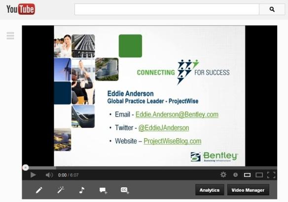 Bentley | ProjectWiseBlog com